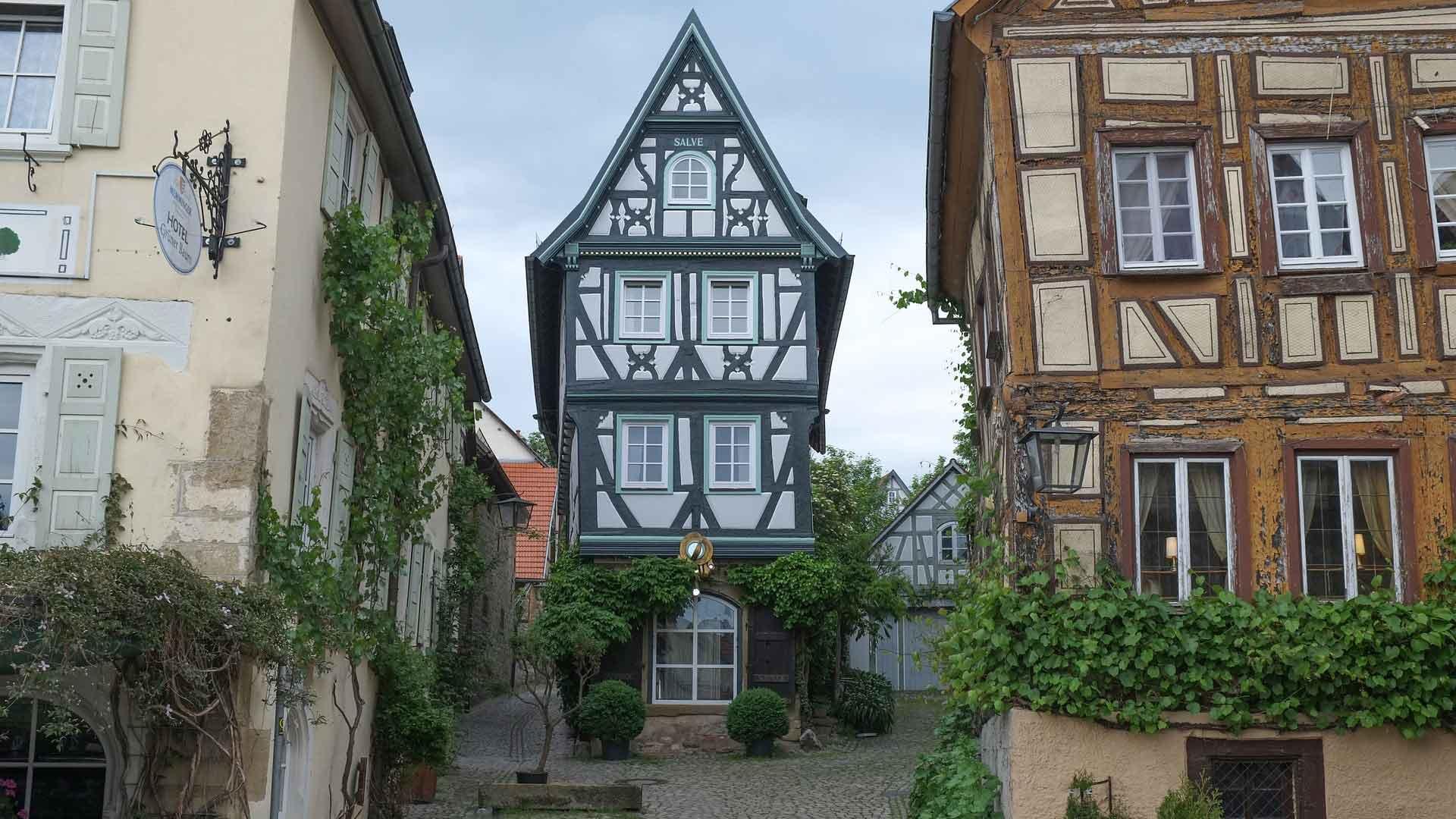 Bad Wimpfen aan de Necker heeft een idyllisch centrum.