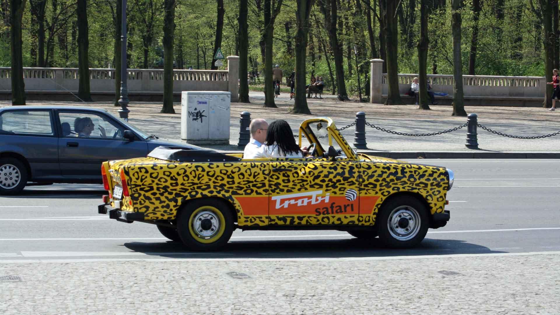 Ook leuk om te doen in Berlijn: een trabi safari.