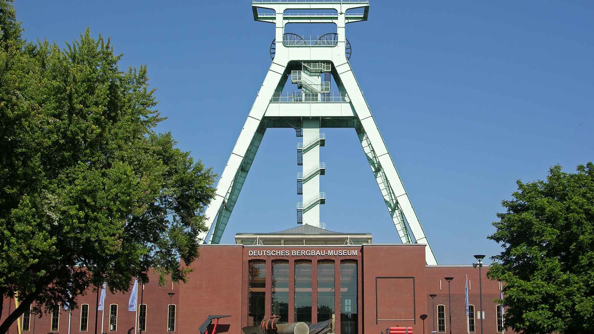 Het Bergbau Museum in Bochum.