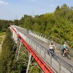 Fietsen over stilgelegde spoorlijnen in het Ruhrgebied. © radvevier.ruhr - Jochen Tack