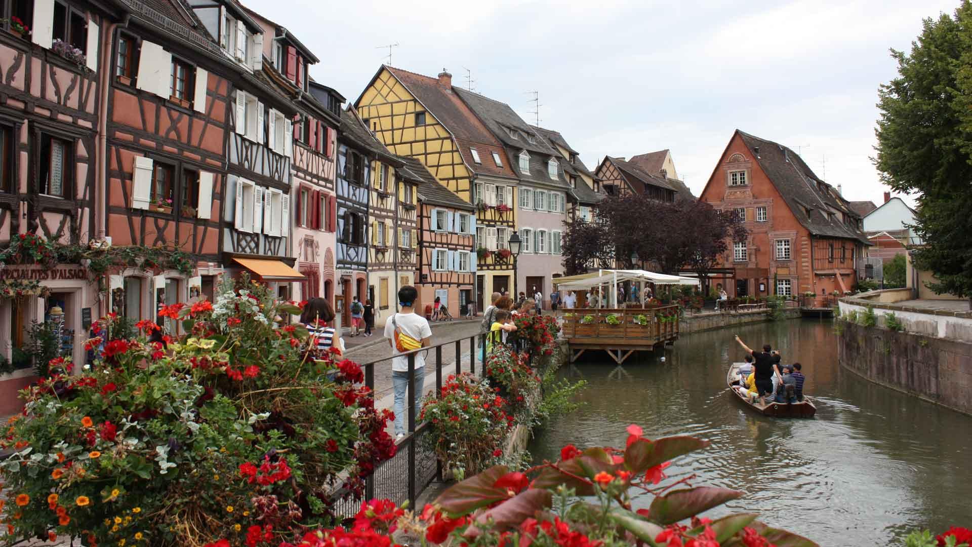 Colmar (Fr) is een prachtig stadje.