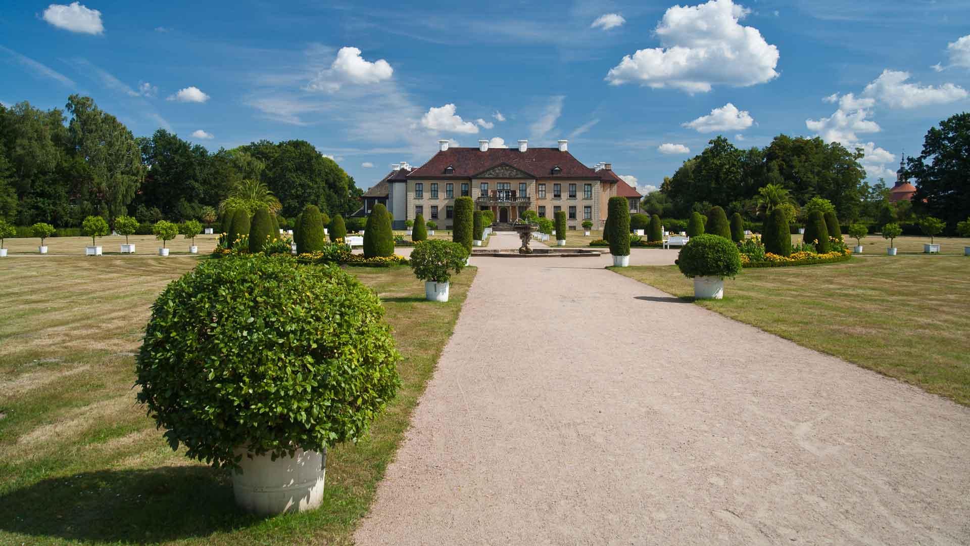 Schloss Oranienbaum bij Dessau.