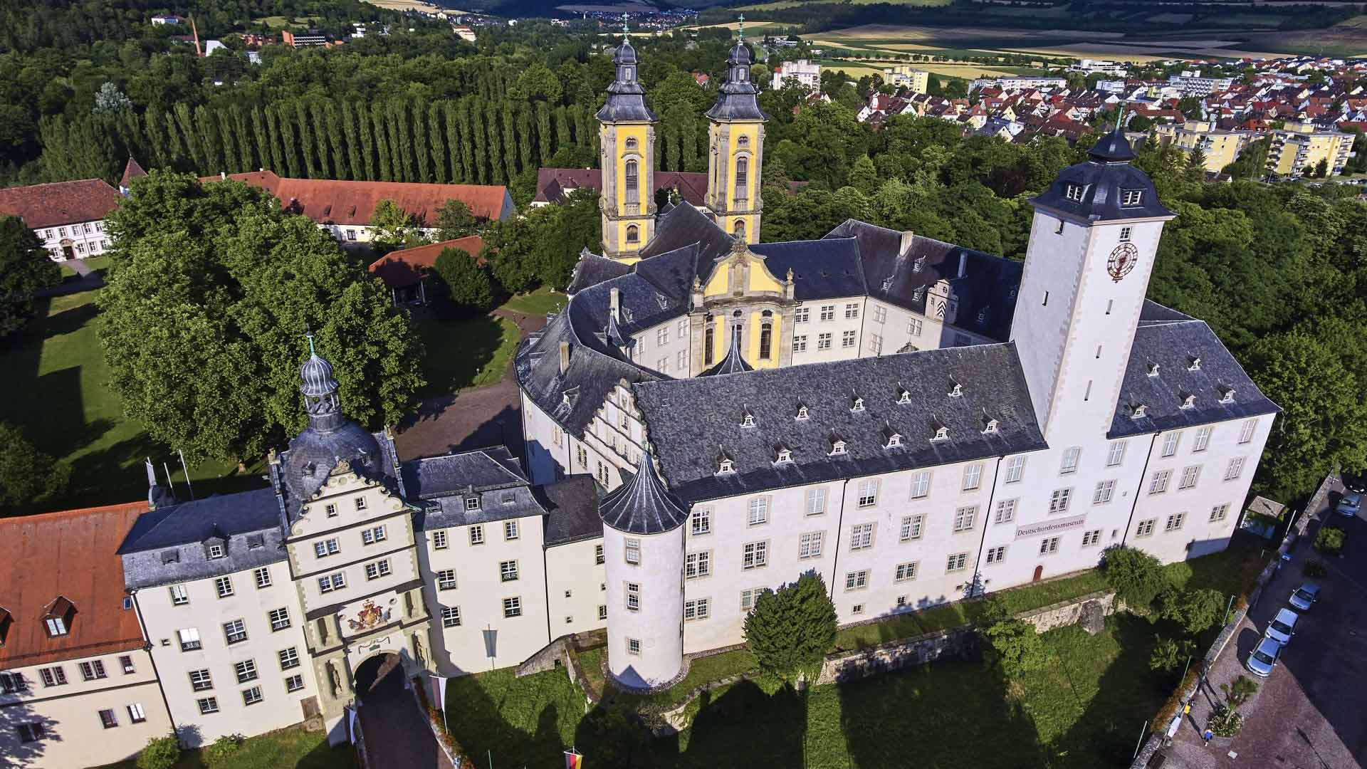 In het Deutschordenschloss in Bad Mergentheim is een museum gevestigd.
