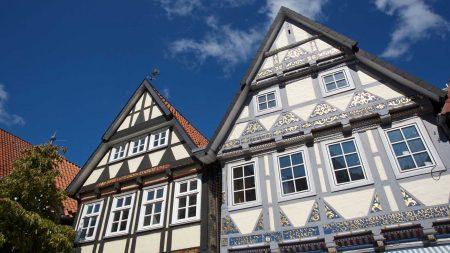 In Celle staan enorm veel vakwerkhuizen