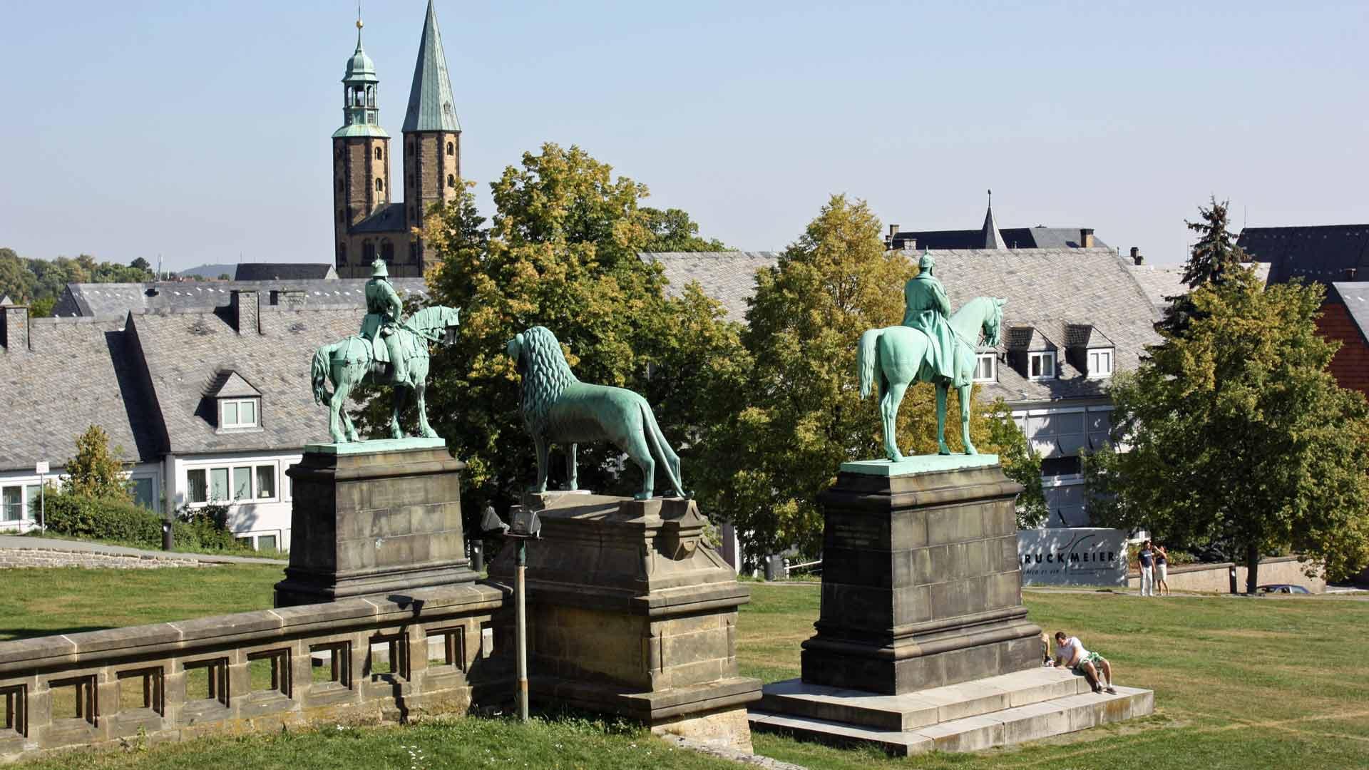 Het hele centrum van Goslar staat op de werelderfgoedlijst van de UNESCO.
