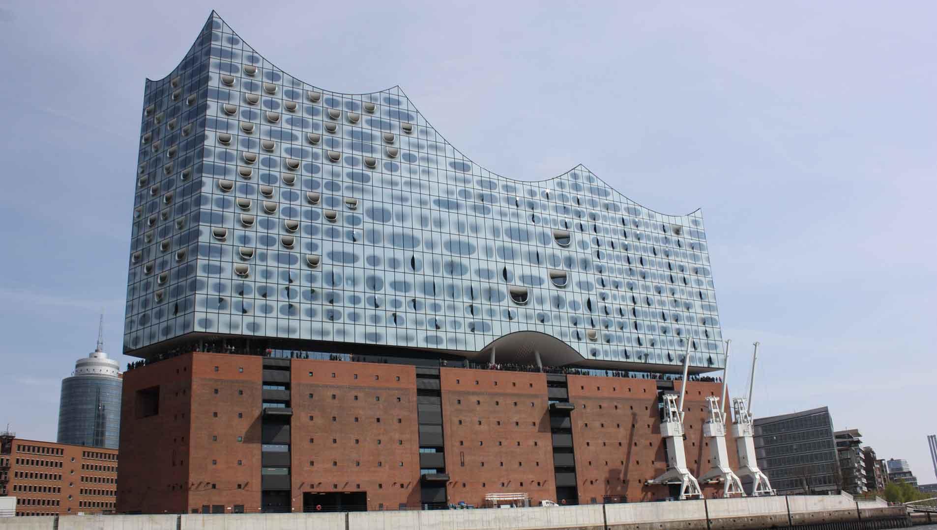 De Elbphilharmonie is de trekpleister van Hamburg.