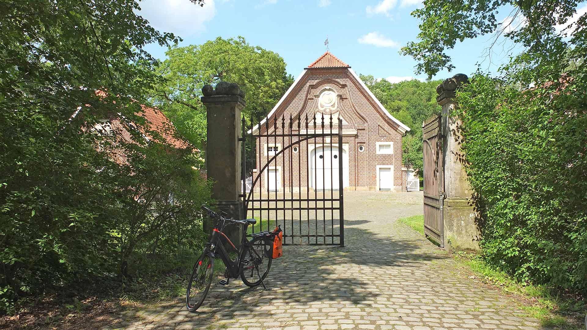 Een bijzonder gebouw: Haus Rüschhaus. © Kootstra