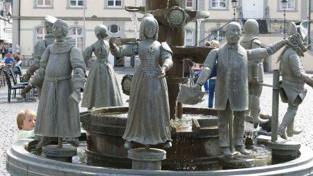 De Bürgerbrunnen in Lippstadt
