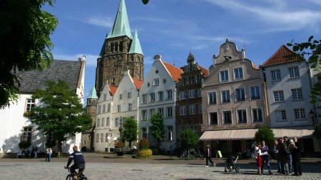 Warendorf is een van de historische stadjes in Noordrijn-Westfalen.