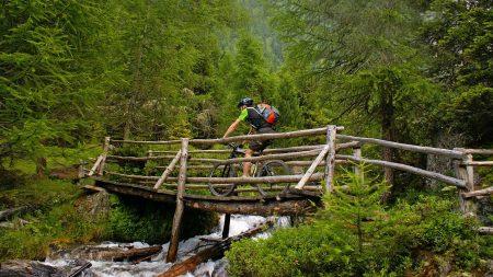 Duitsland biedt volop avontuurlijke mountainbike routes.
