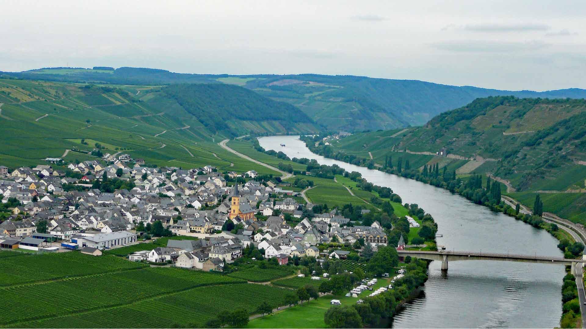De Moezel bij Trittenheim
