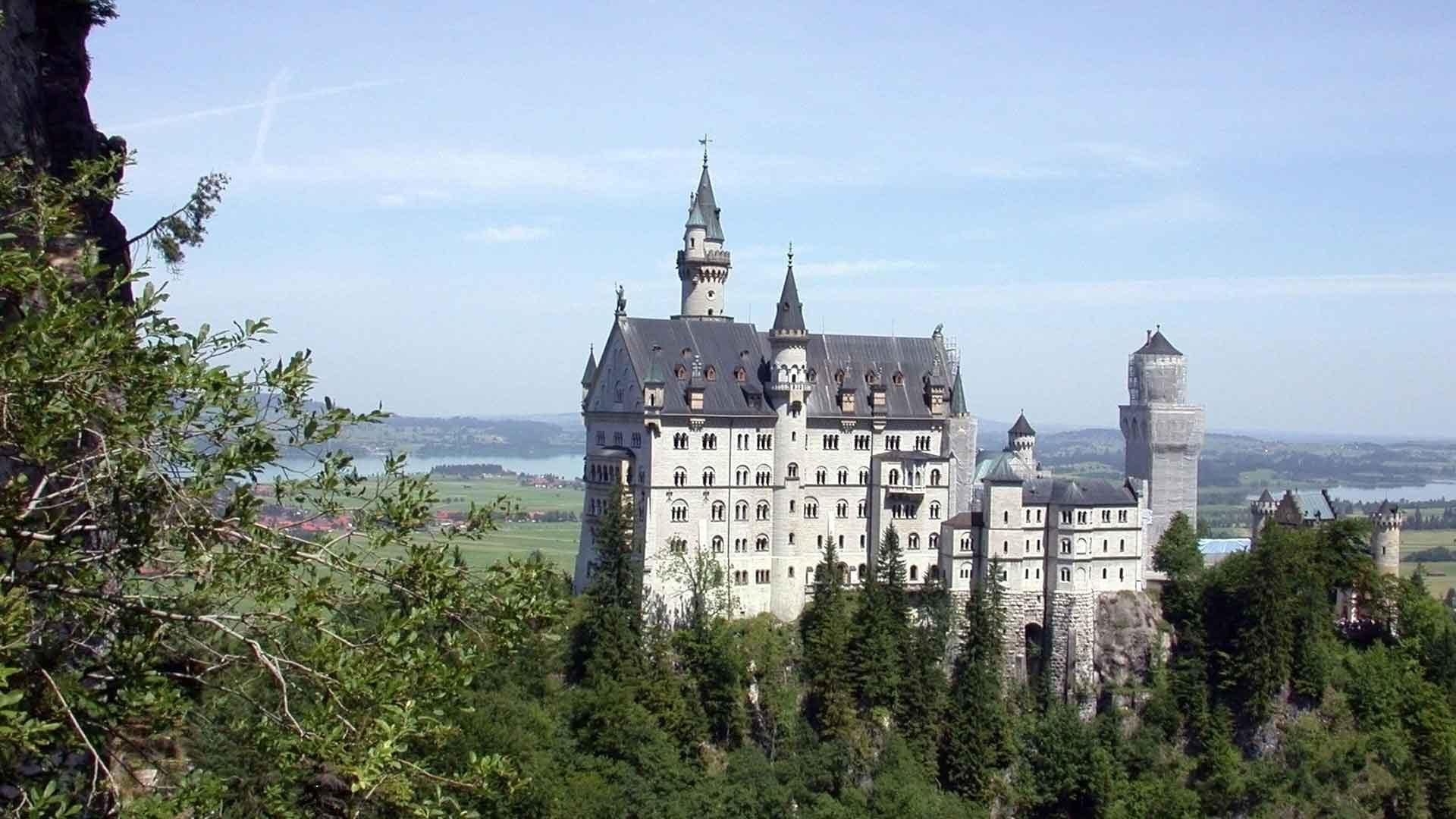 Het sprookjeslot Neuschwanstein is de bekendste bezienswaardigheid van Beieren