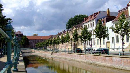 Potsdam heeft zelfs een Hollandse wijk, inclusief gracht.