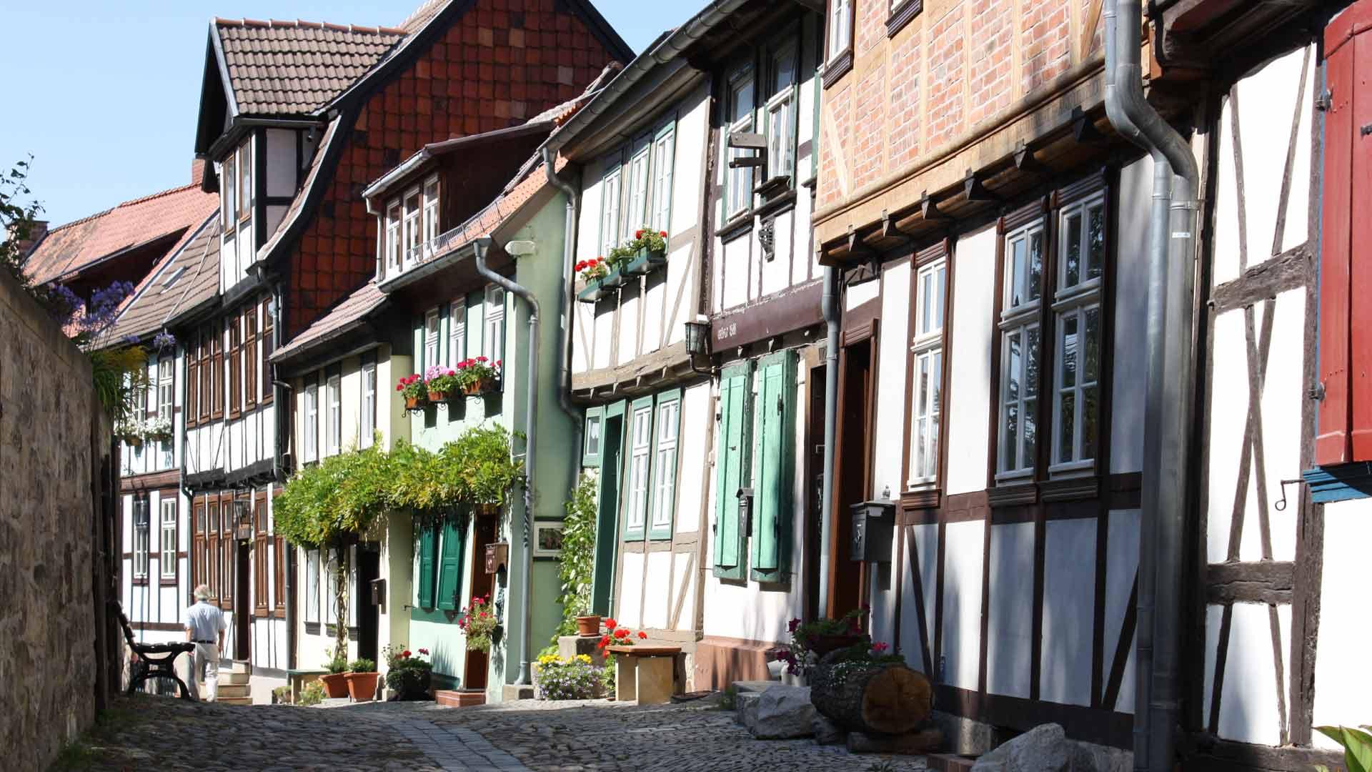 Geen wonder dat in Quedlinburg al veel films zijn gemaakt.