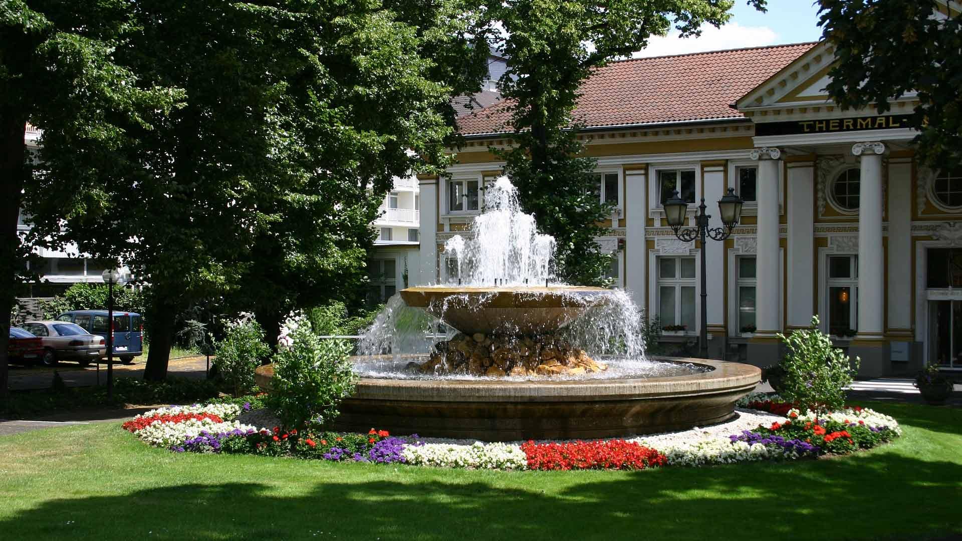 Het kuurhaus van Bad Neuenahr