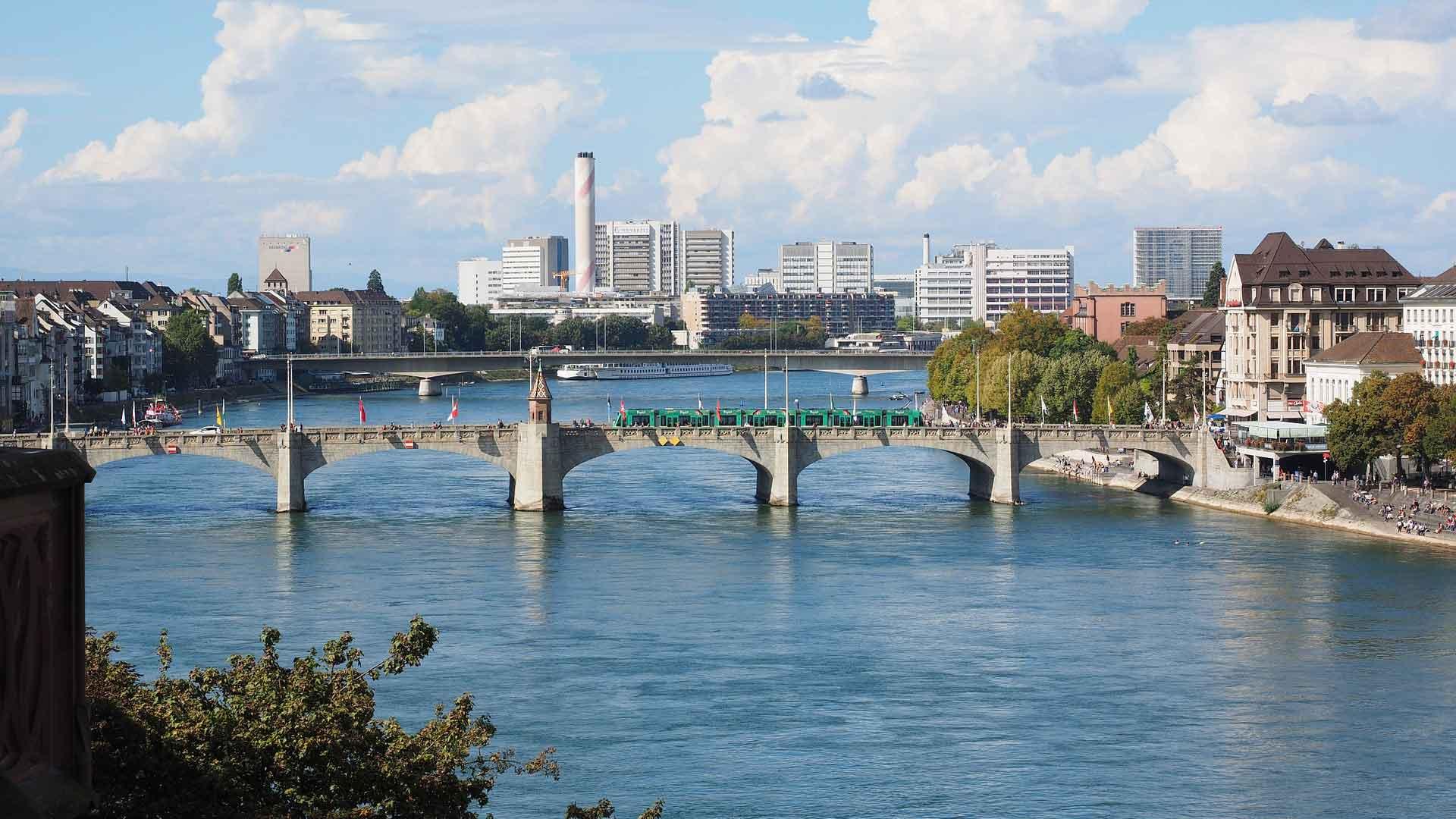 In het Zwitserse Basel zul je je zeker niet vervelen.