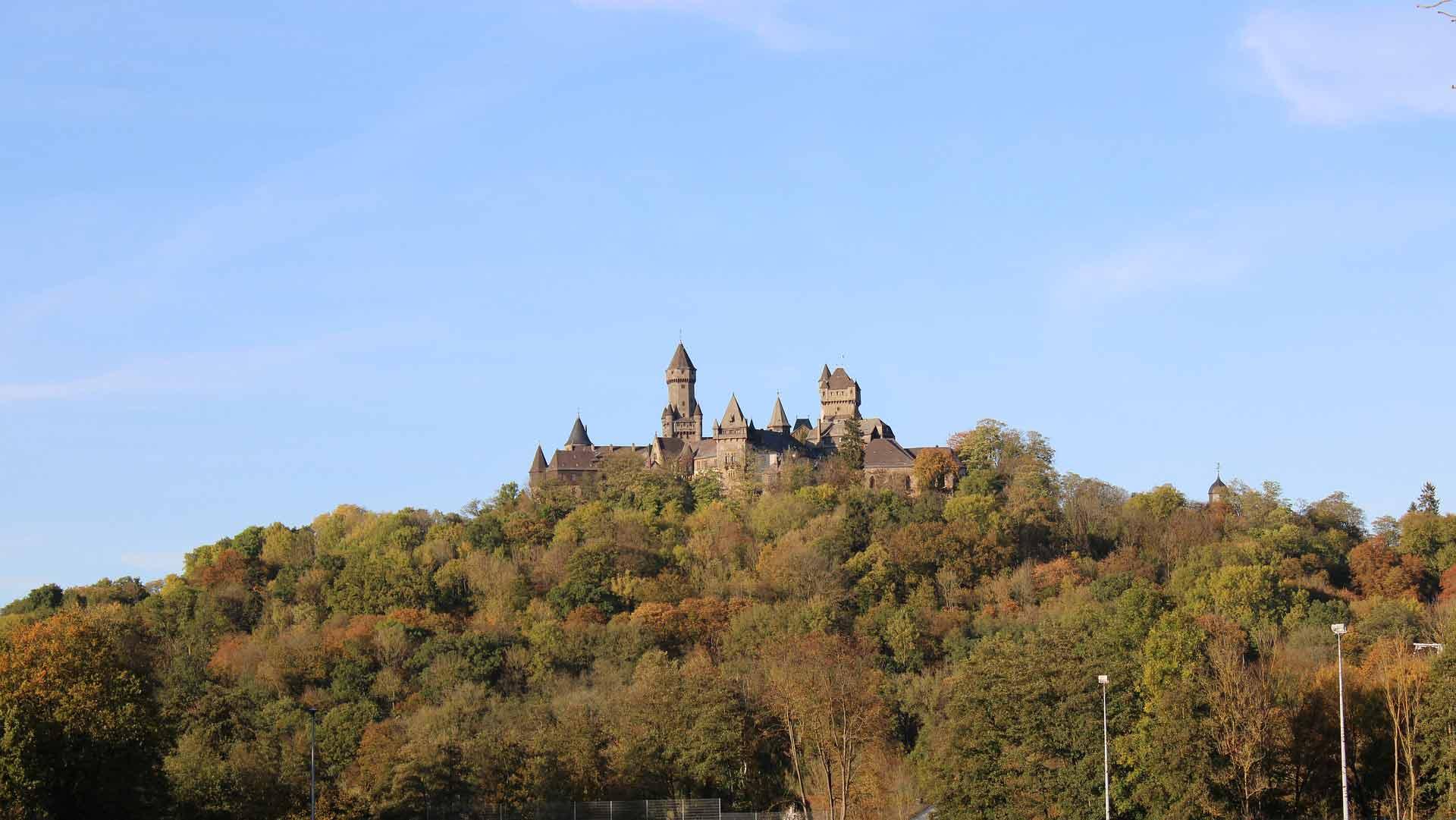 Het slot waar gravin Amalia van Solms-Braunfels is geboren