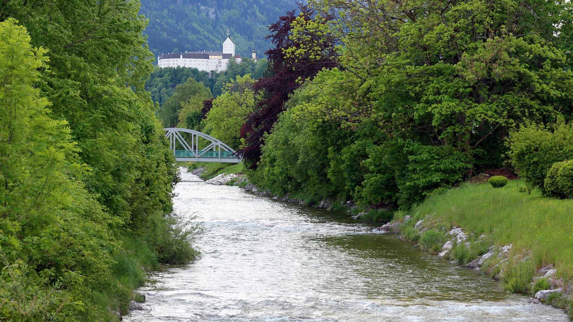 Kasteel Hohenaschau in Prien bij de Chiemsee