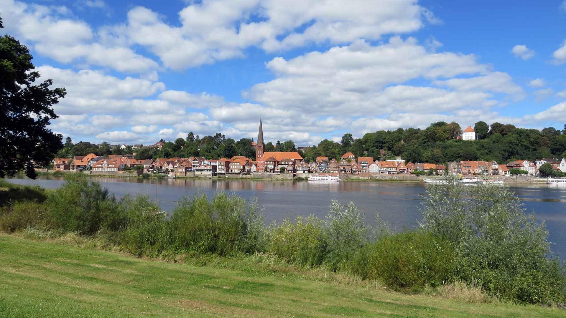 Lauenburg is een leuk oud schippersstadje langs de Elbe.