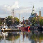 Als je gaat fietsen op de Veenroute begint en eindigt je vakantie in Emden.