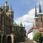 Een impossant plaatje: de Dom van Erfurt.