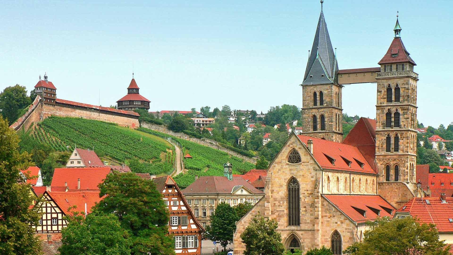 Esslingen is een gezellig stadje aan de Neckar.