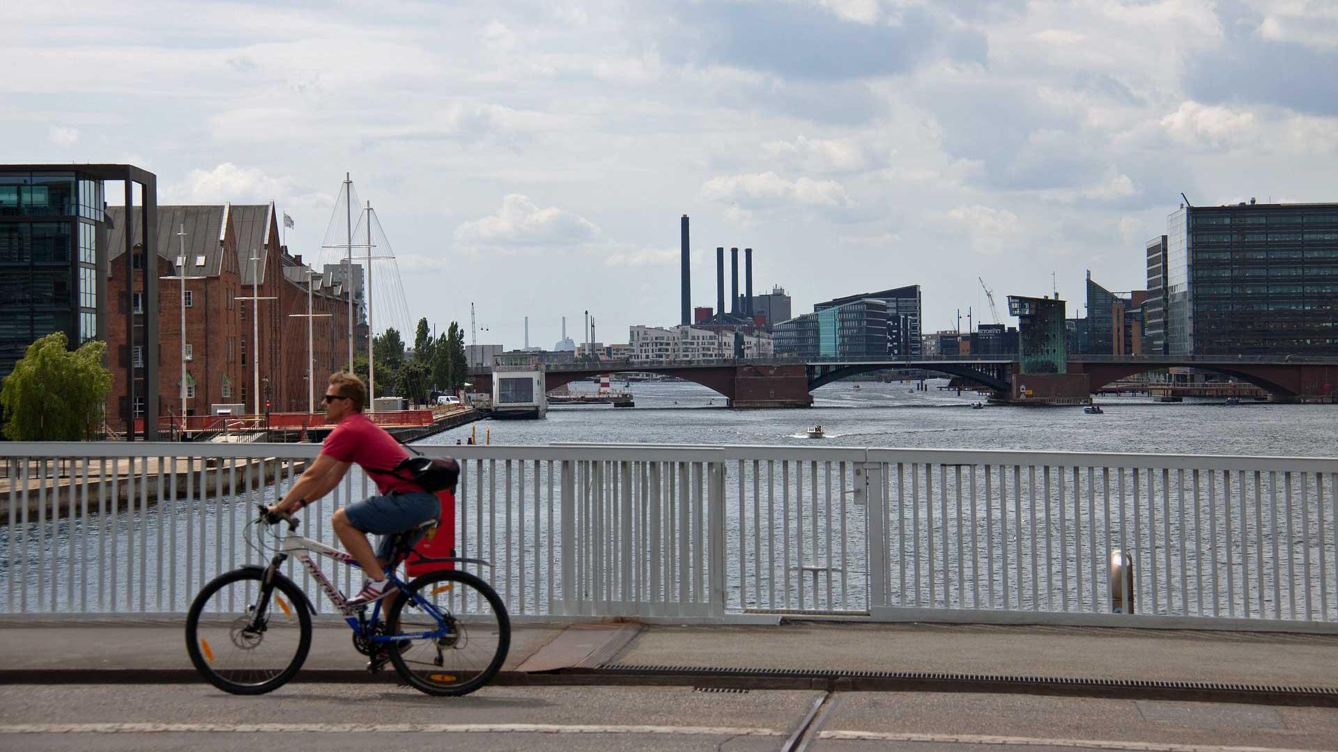 Kopenhagen is een van de meest fietsvriendelijke steden van Europa.