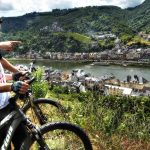 Cochem is een van de bekendste plaatsen die je tegenkomt als je gaat fietsen langs de Moezel.