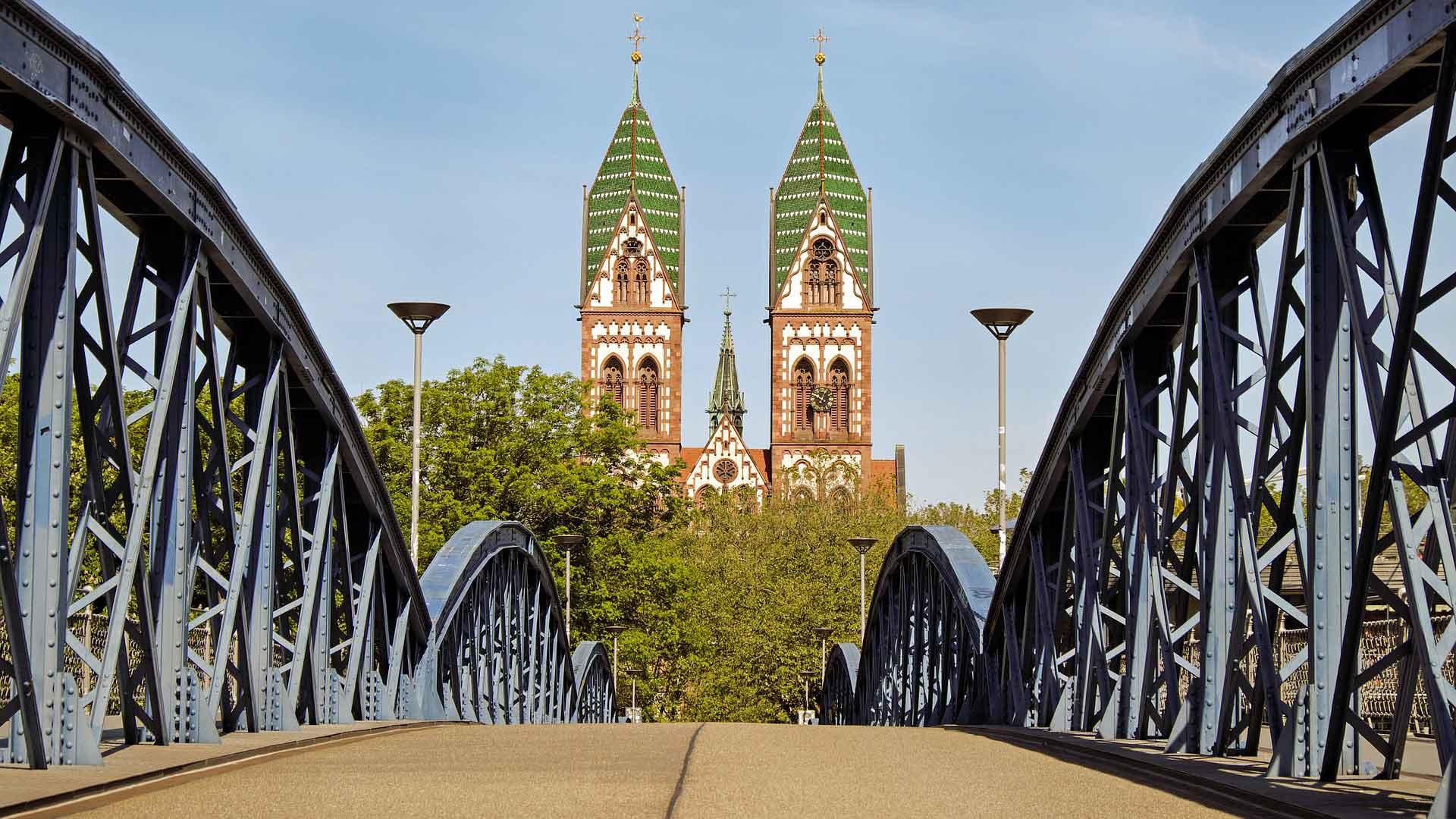 Freiburg is een gezellige studentenstad.