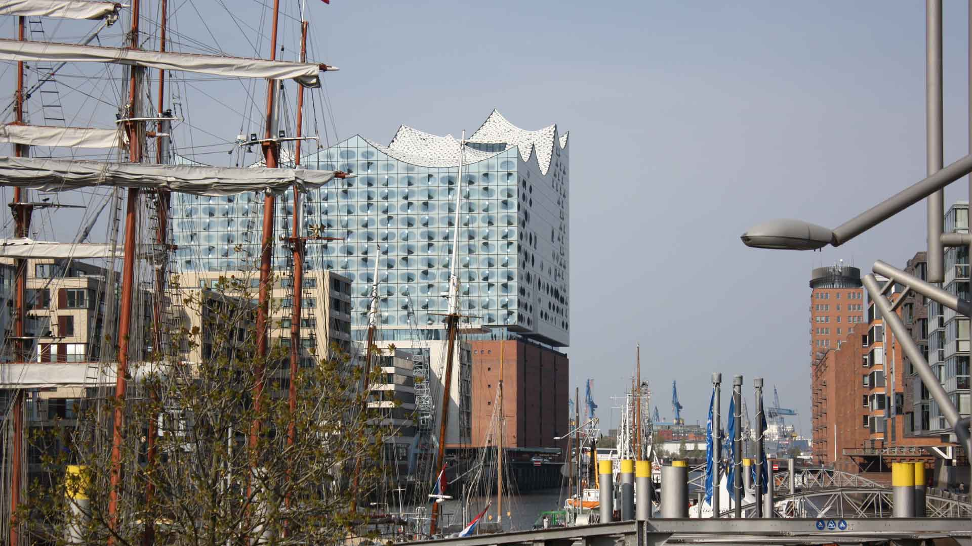 De Elbphilharmonie is erg fotogeniek.