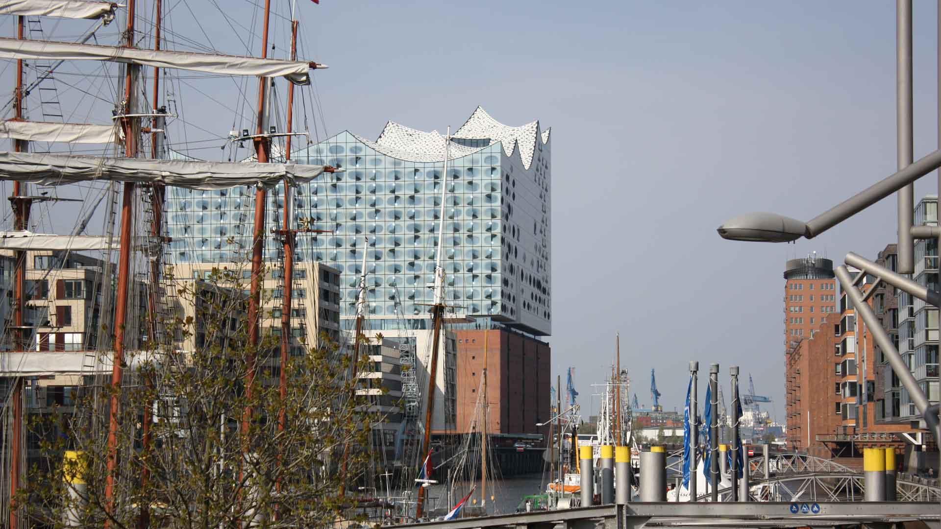 De nieuwe Elbphilharmonie in Hamburg is bijzonder fotogeniek