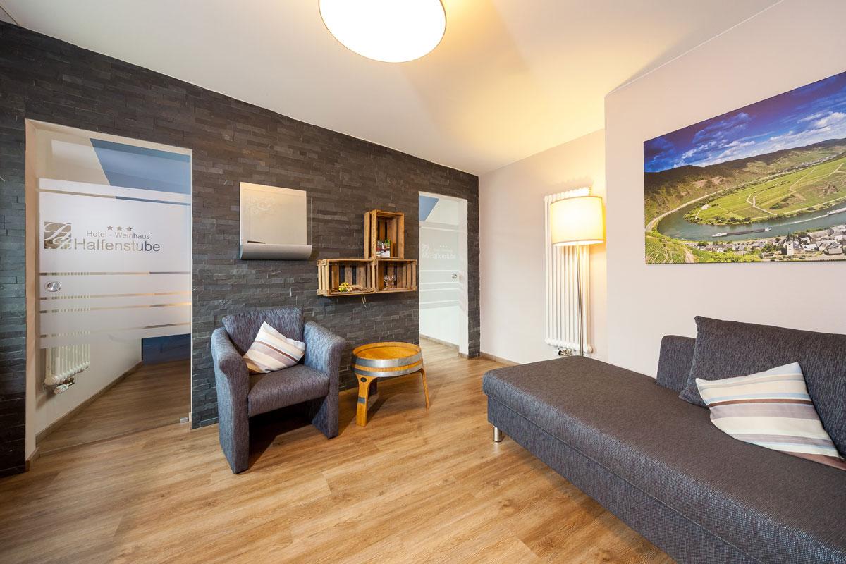De suite in Hotel Halfenstube