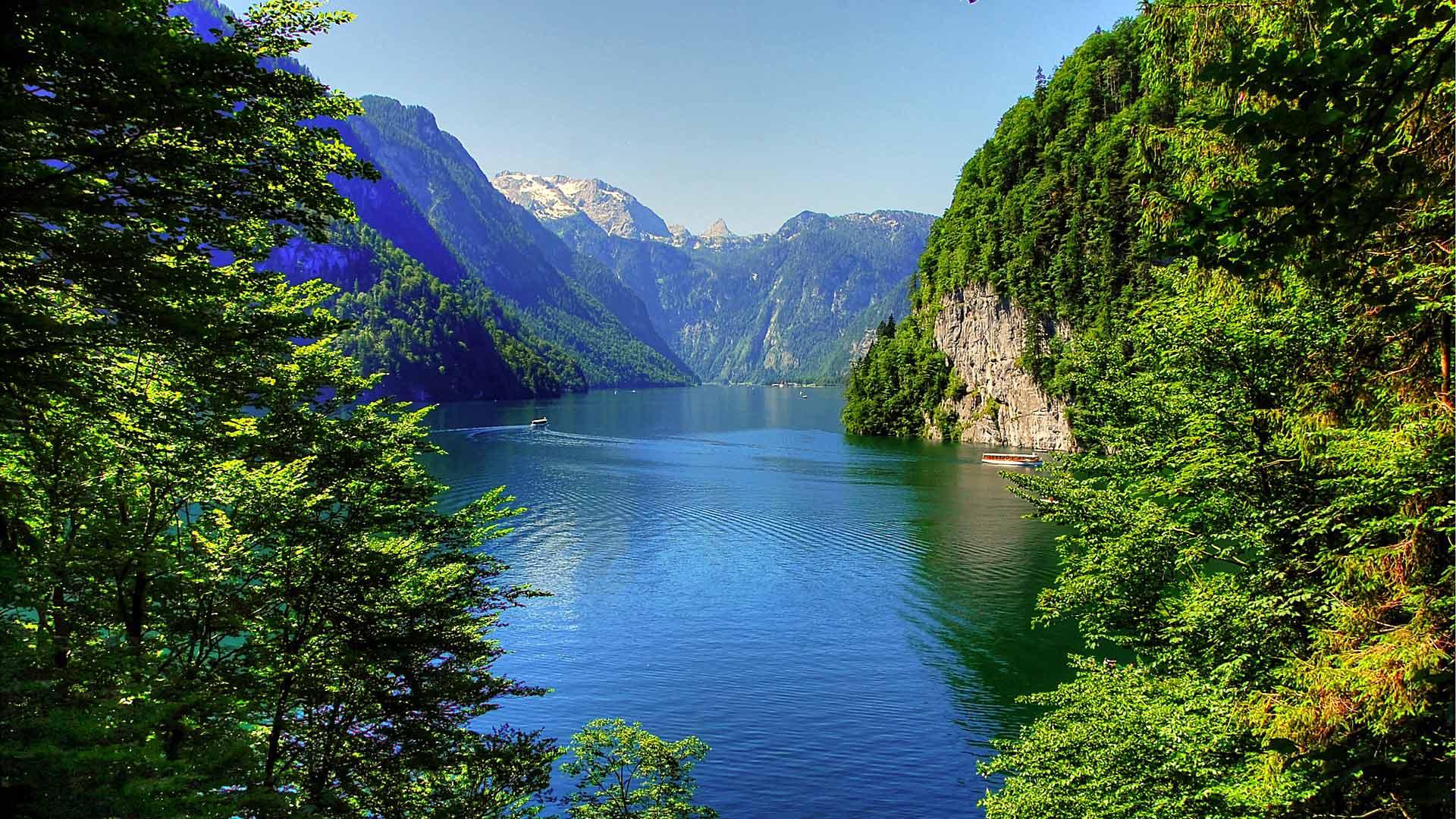 De Köningssee is een van de vele idyllische Alpen meren