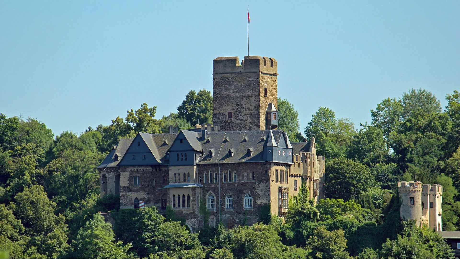 Burg Lahneck in Lahnstein.