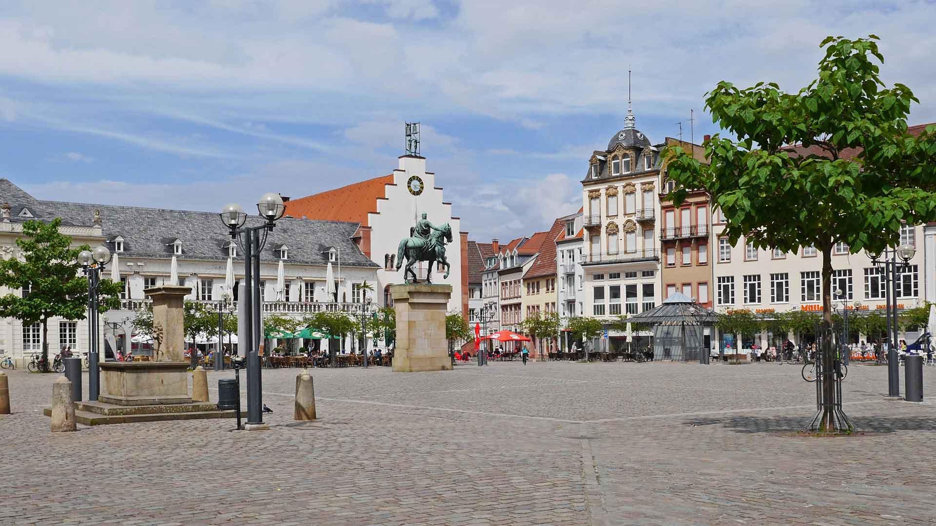 Landau in de Pfalz.