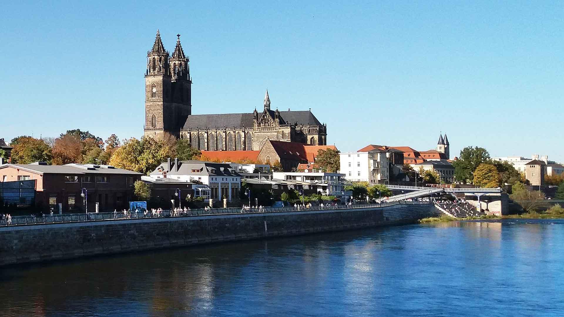 De Dom van Magdeburg.