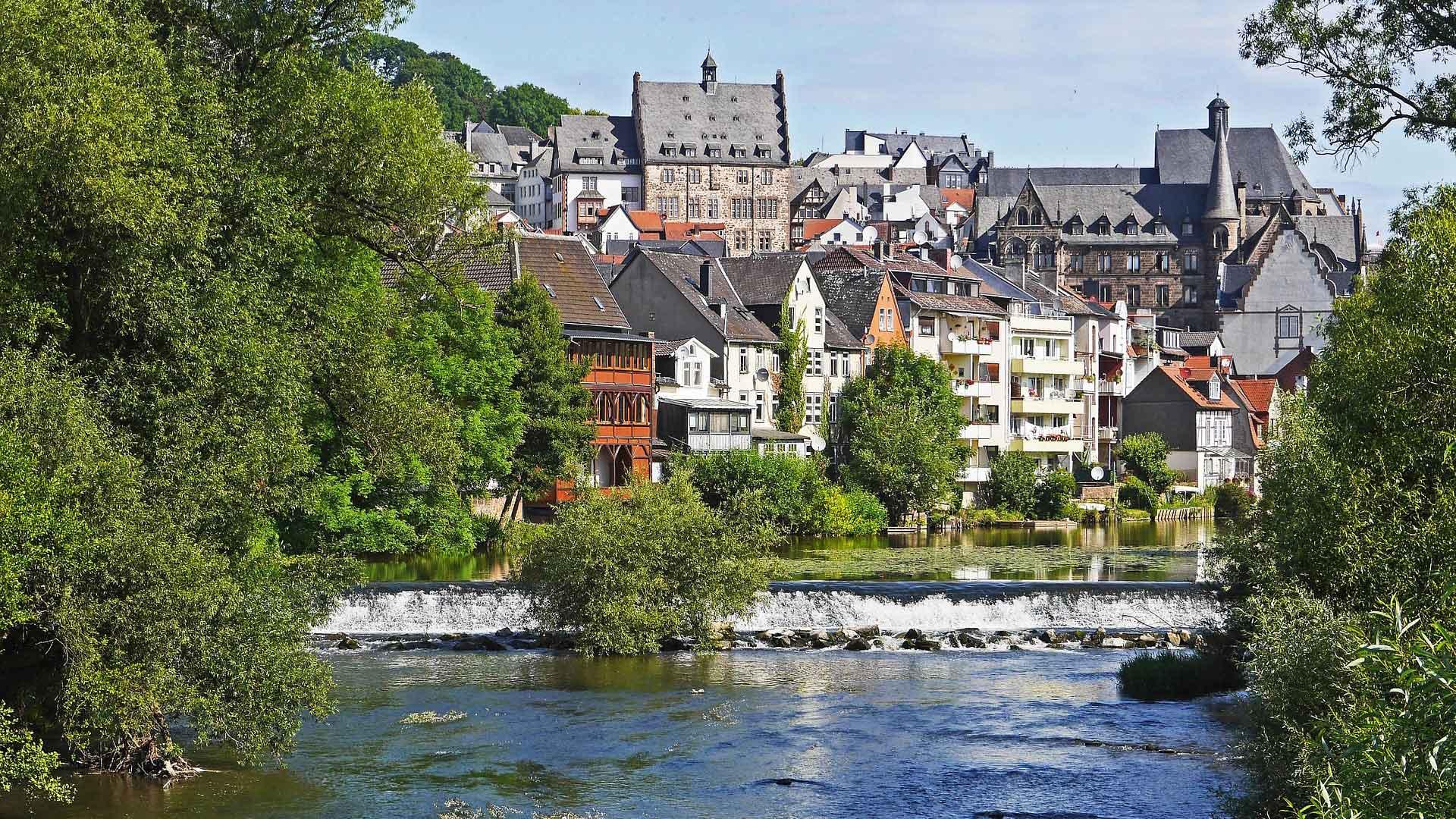 Marburg is meestal het startpunt voor je fietsvakantie langs de Lahn.