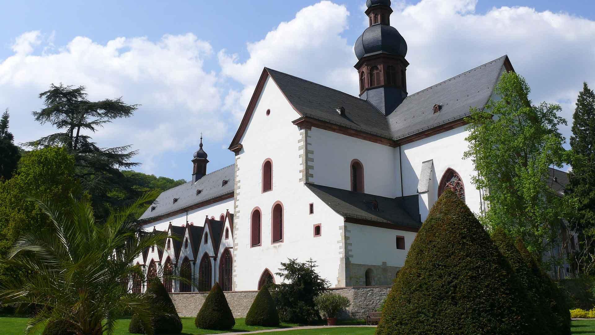 Kloster Eberbach is een omweg waard.