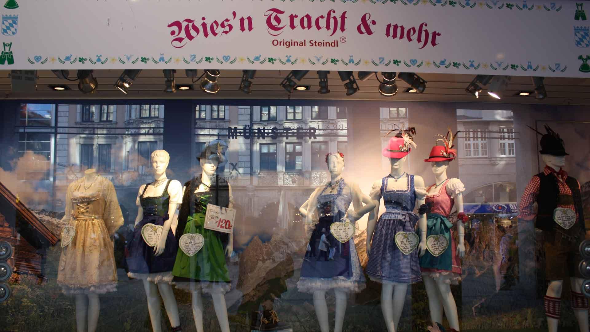 Misschien zijn de Dirndls wel in de uitverkoop in München.