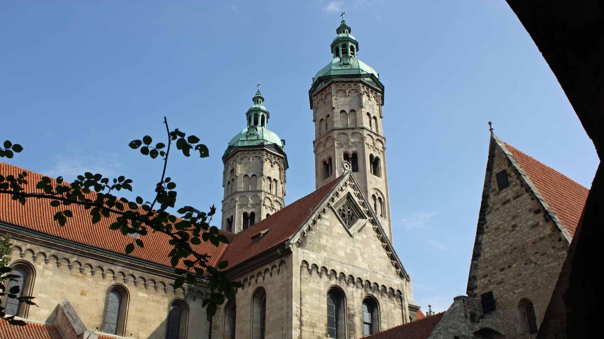 De prachtige Dom van Naumburg.