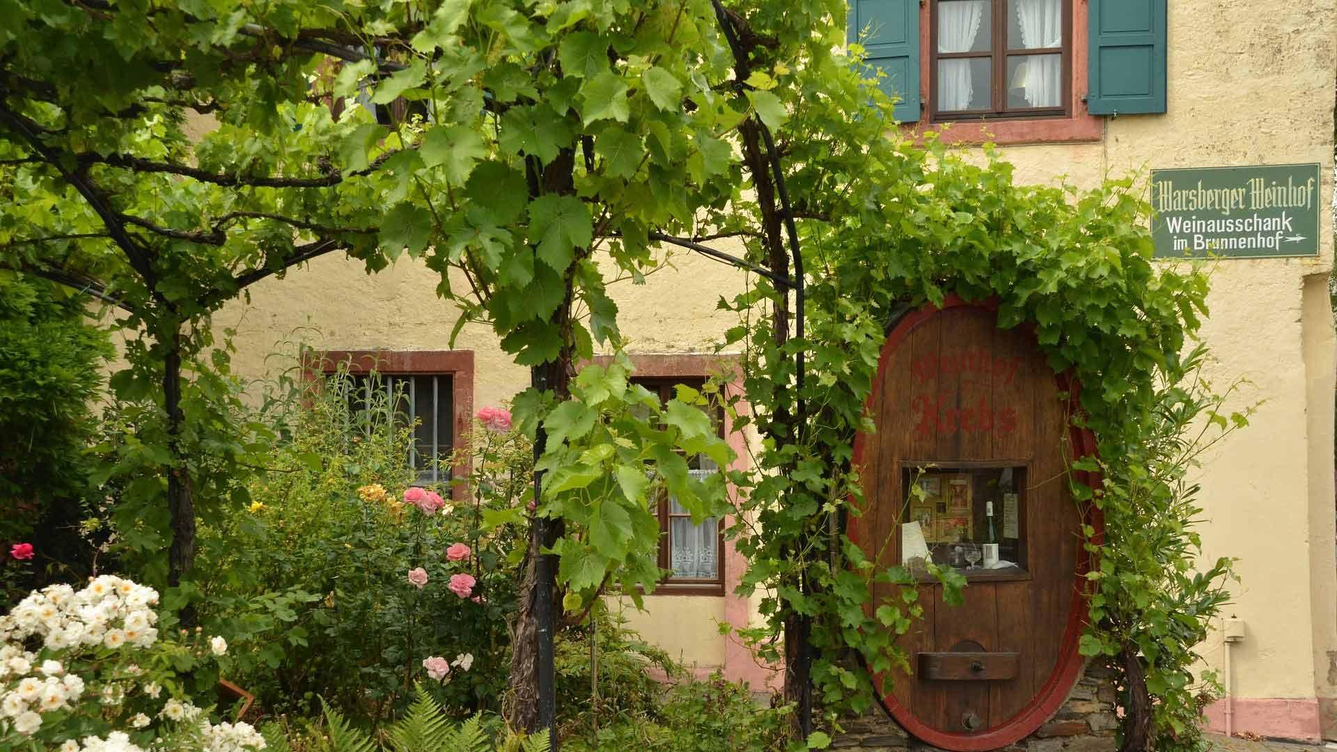 Er zijn onderweg volop gelegenheden om wijnen te proeven.
