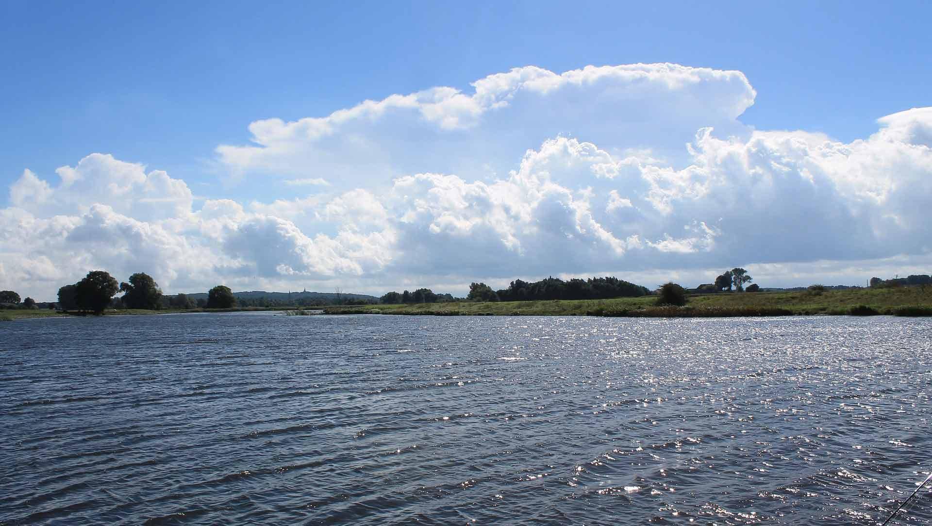 Weids landschap aan de Niederrhein.