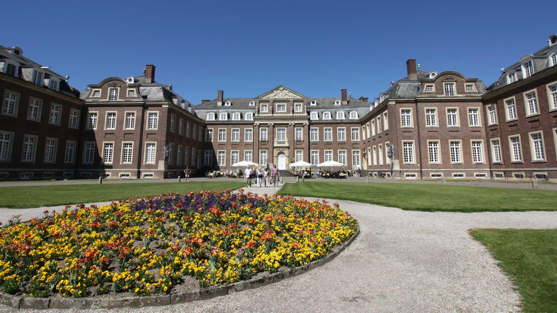 Schloss Nordkirchen wordt ook wel het Versailles van het Münsterland genoemd.