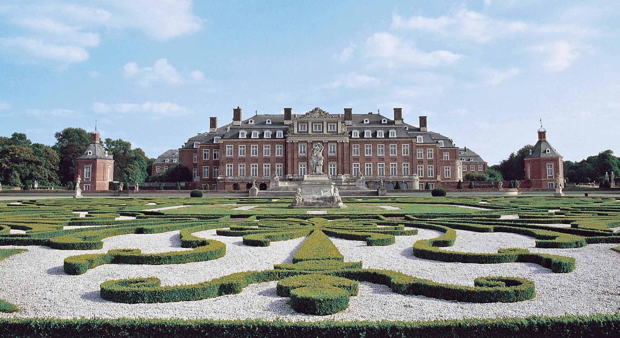 Schloss Nordkirchen wordt ook wel het Versailles van Westfalen genoemd.