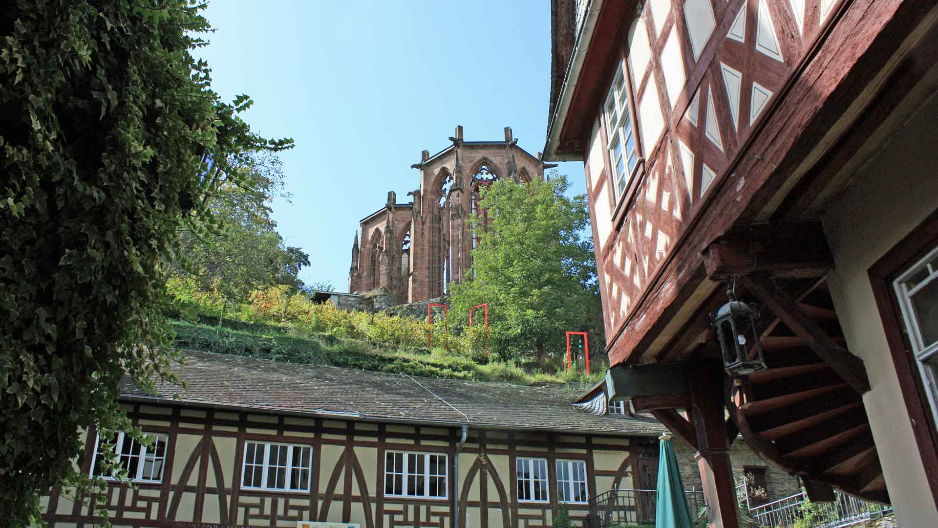 De Wernerkapel in Bacharach.