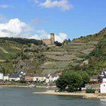 Tijdens deze 7 daagse fietsvakantie langs de Rijn kom je langs Pfalzgrafenstein, gelegen op een eiland in de Rijn.