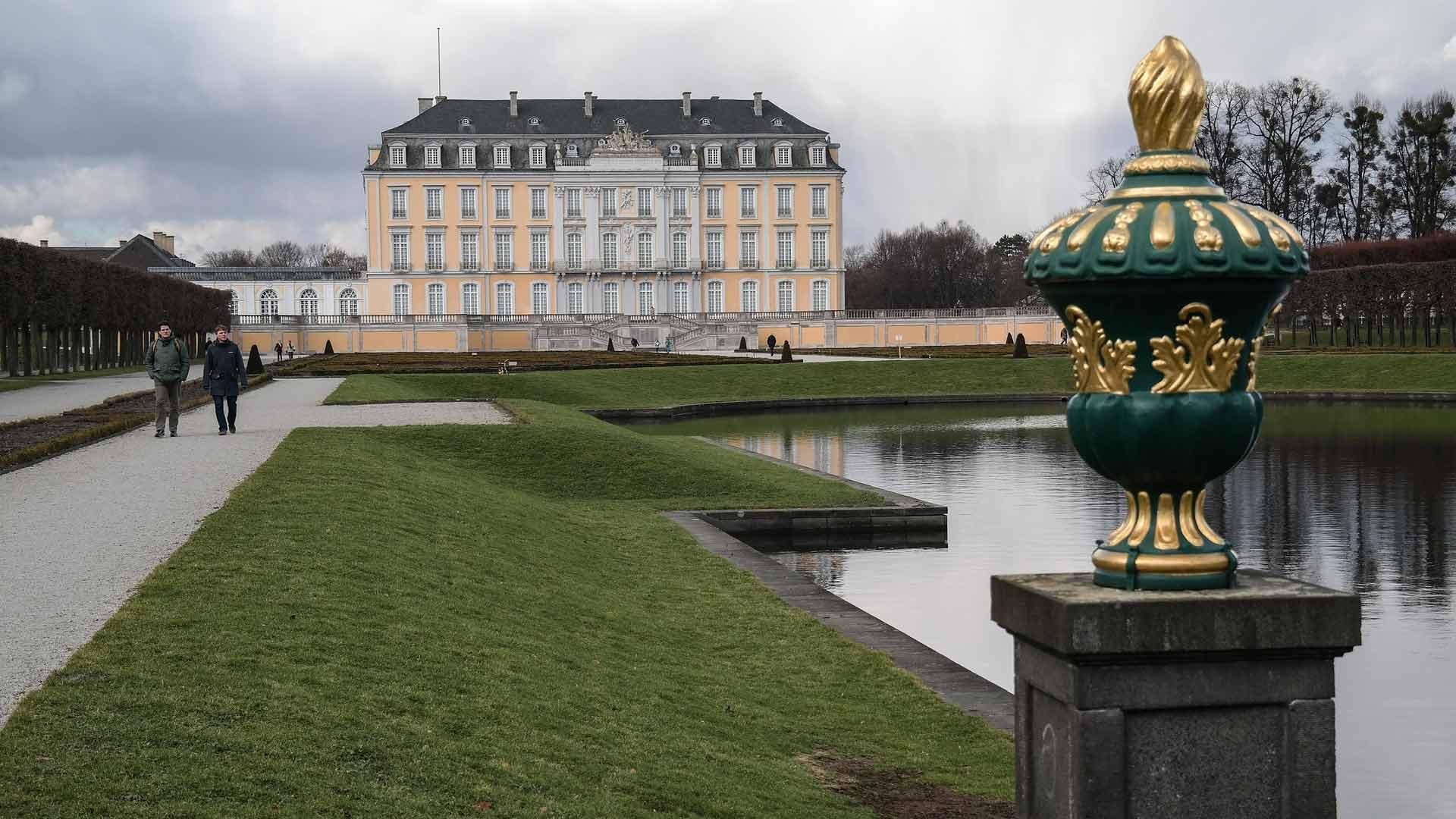 Schloss Augustusburg in Brühl is een UNESCO werelderfgoedlocatie.