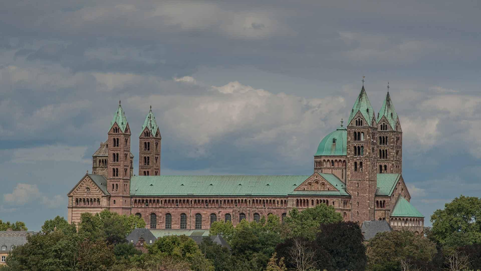 De Dom van Speyer.