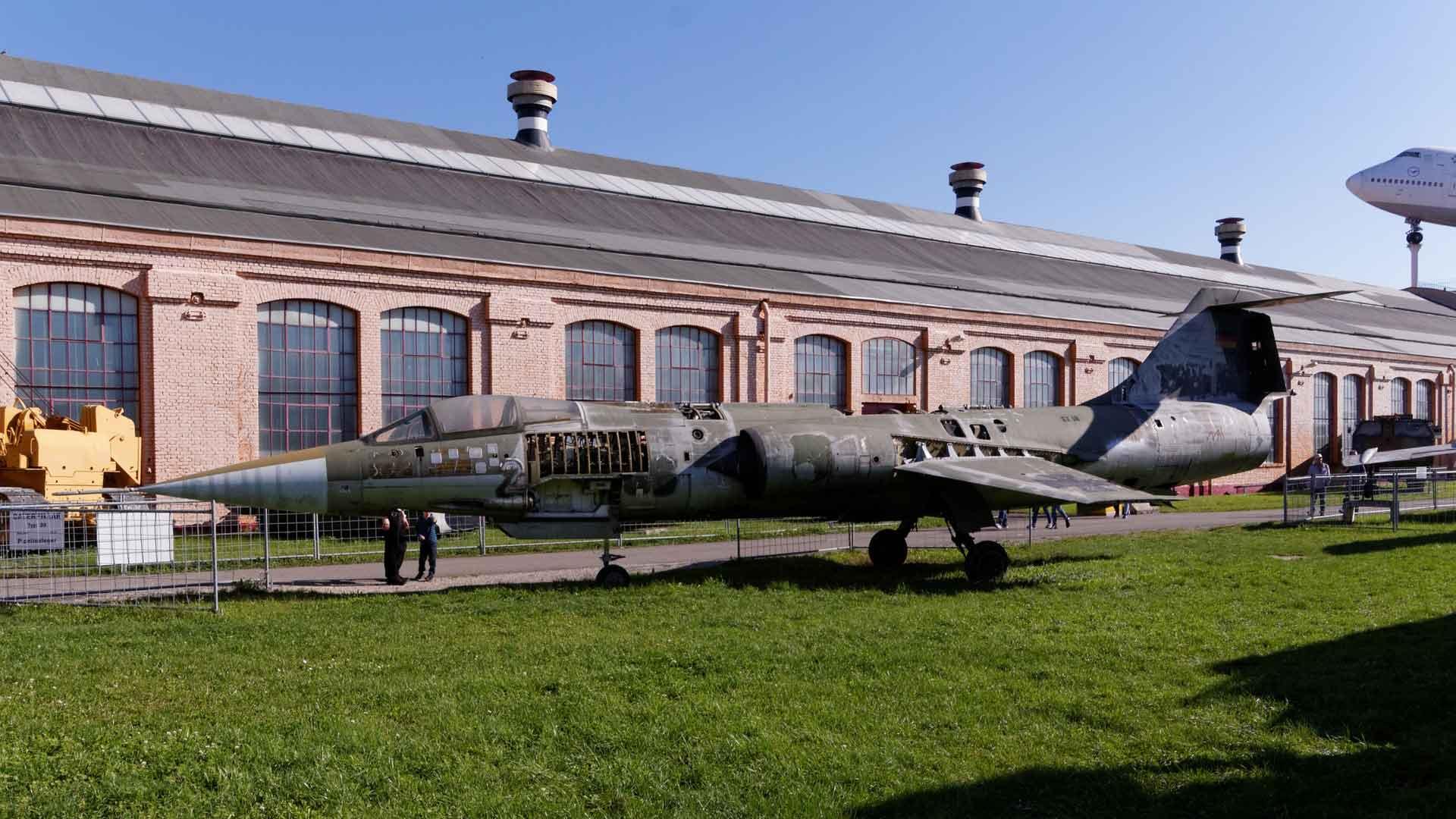 Liefhebbers van techniek kunnen hun hart ophalen in het Technikmuseum in Speyer.