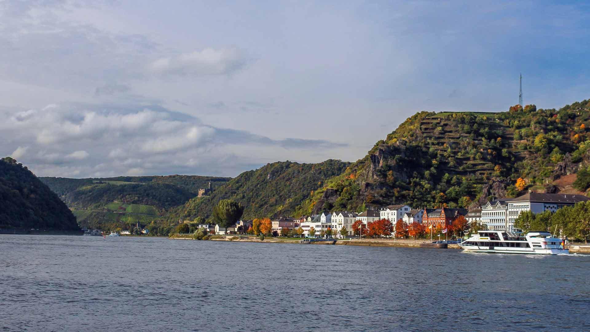 St. Goar aan de Rijn